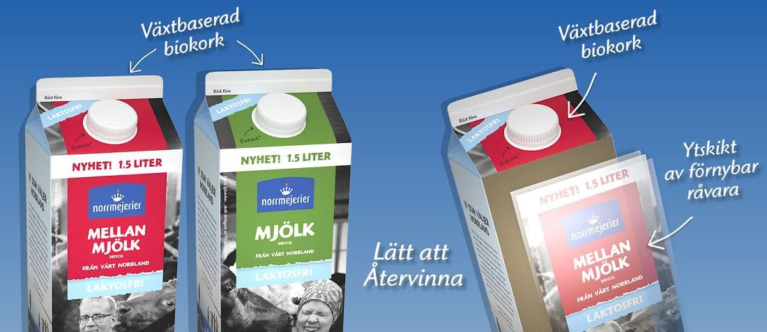 Laktosfri nyhet 1,5 liter