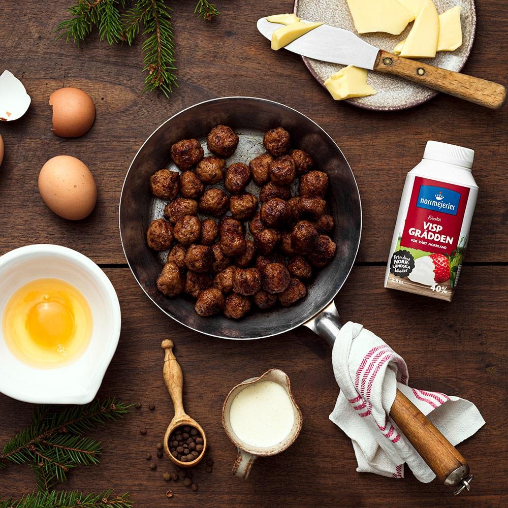 Claras Mormors julköttbullar med smak av kryddpeppar