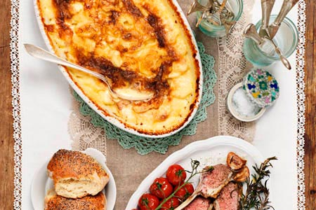 Laktosfri potatisgratäng