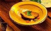 Gourmetpaté med kryddig gräddfilssås