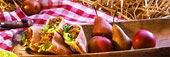 Pitabröd med färsfyllning