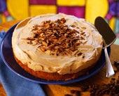 Frusen mockaparfaittårta