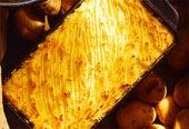 Potatismosgratäng med ost