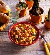 Kryddstark böngryta från Mexiko