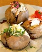 Bakad potatis med tonfiskröra