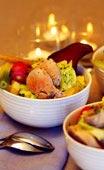 Pot au feu - buljongkokt fläskfilé med grönsaker och fetaostklick
