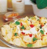 Indisk potatissallad