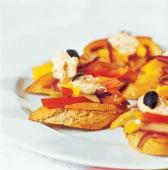 Crostini med paprika och chili