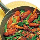 Crayfish gumbo