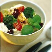 Pasta med kyckling, tomat och basilika