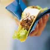 Tacos med texmex-fyllning