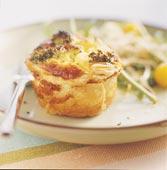 Matpaj med grönsaker och crème fraiche