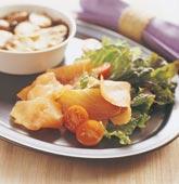 Potatiskaka med soltorkade tomater och färska örter
