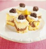 Saftig vanilj- och chokladkaka