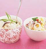 Curry- och äppelsill