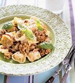 Tortellini med valnötter