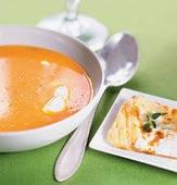 Morotssoppa med getostgalette