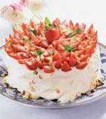 Oemotståndlig jordgubbstårta