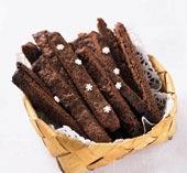Chokladsnittar med kanel