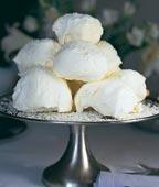 Snöbollar med kokossnö