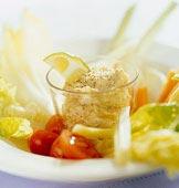 Grönsaksfat med hummus