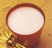 Mjölkdrink med hjortron