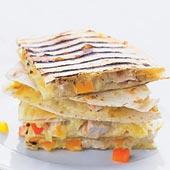 Grillad Quesadilla med kyckling och orientalisk curry