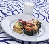 Köttfärsgratäng med broccoli och Västerbottensost