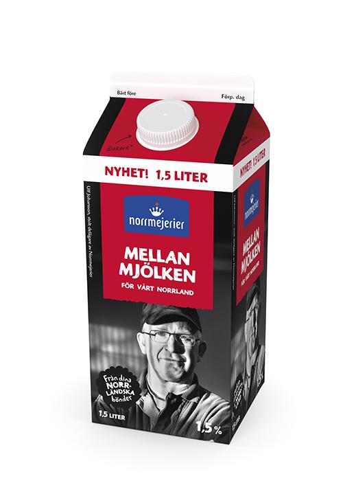 Mellanmjölken 1,5% 1,5 liter