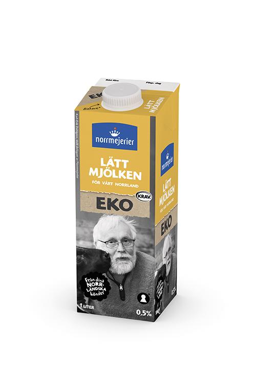 Ekologisk Lättmjölk 0,5% KRAV