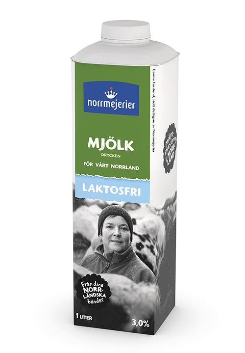 Laktosfri Mjölk dryck 3%
