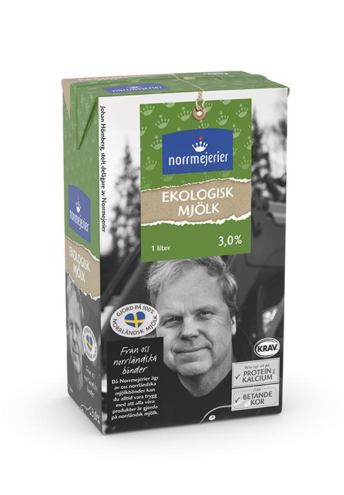Ekologisk mjölk 3% KRAV