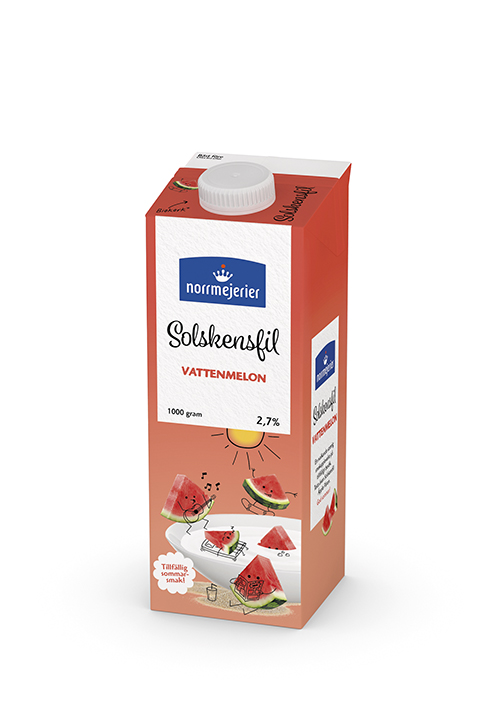 Solskensfil Vattenmelon 2,7% 1000g