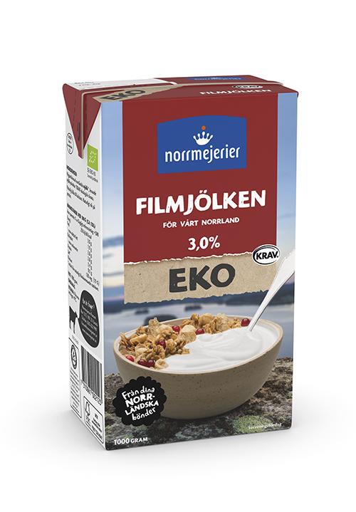 Filmjölken Eko 3% KRAV