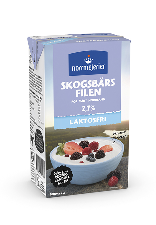 Laktosfri Skogsbärsfil 2,7%