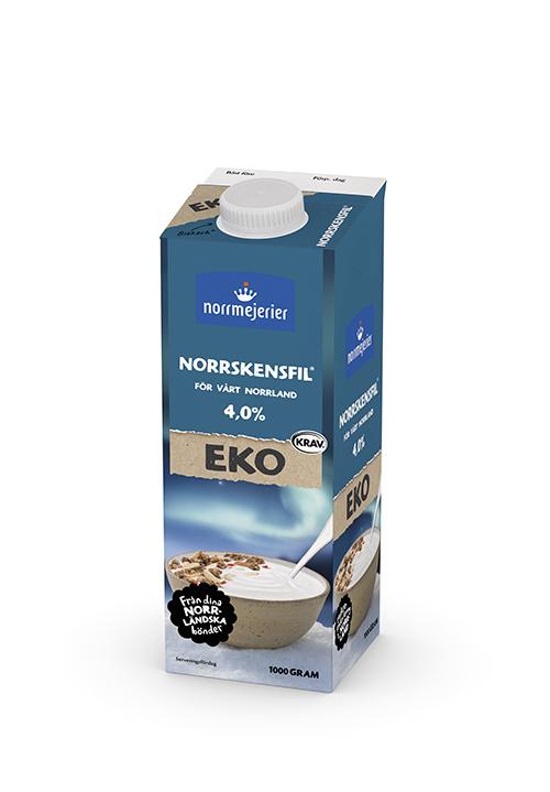 Ekologisk Norrskensfil® 4% KRAV 1000g