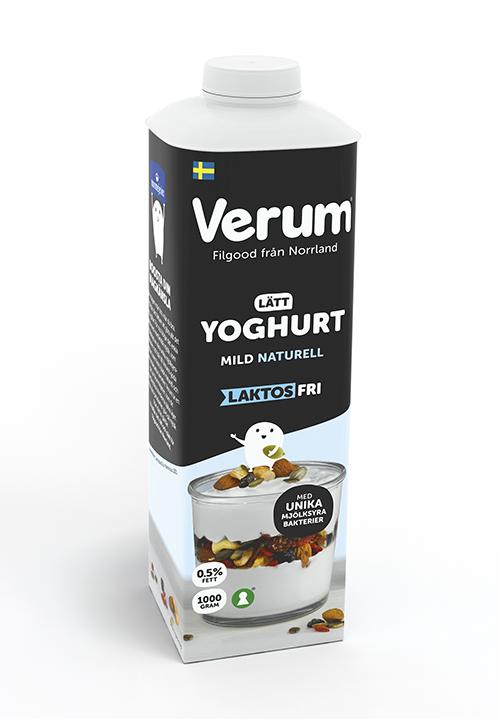 Verum® Hälsoyoghurt 0,5% Mild Naturell Laktosfri