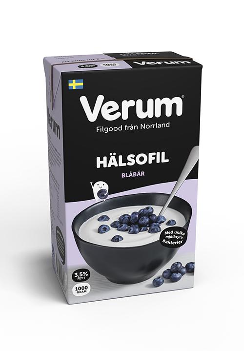 Verum® Hälsofil 3,5% Blåbär