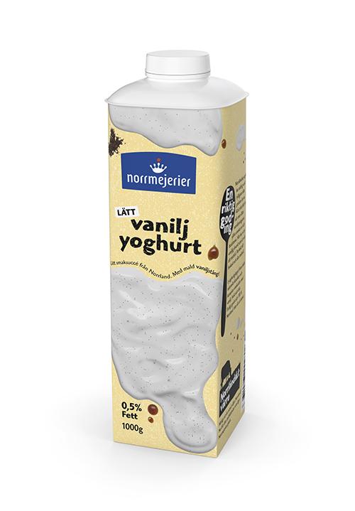 Vaniljyoghurt 0,5% 1000g