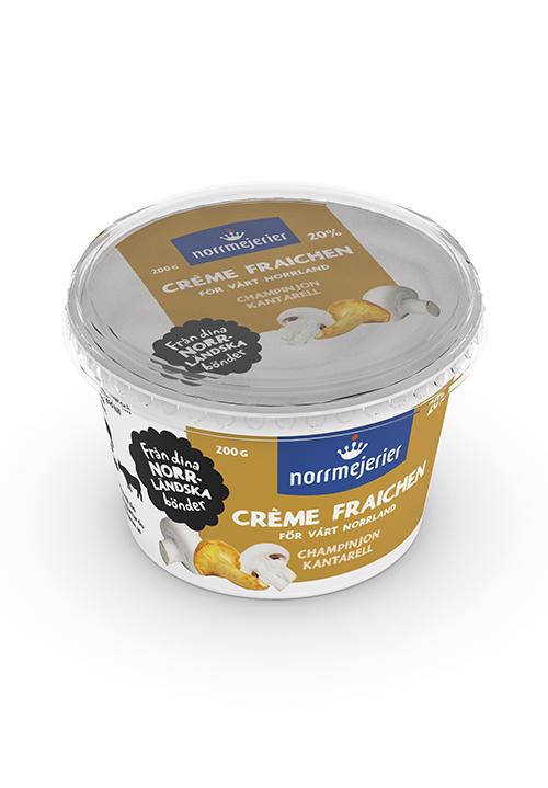 Crème Fraichen Champinjon-Kantarell 20% 200g