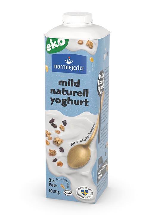 Ekologisk Mild Yoghurt 3% KRAV