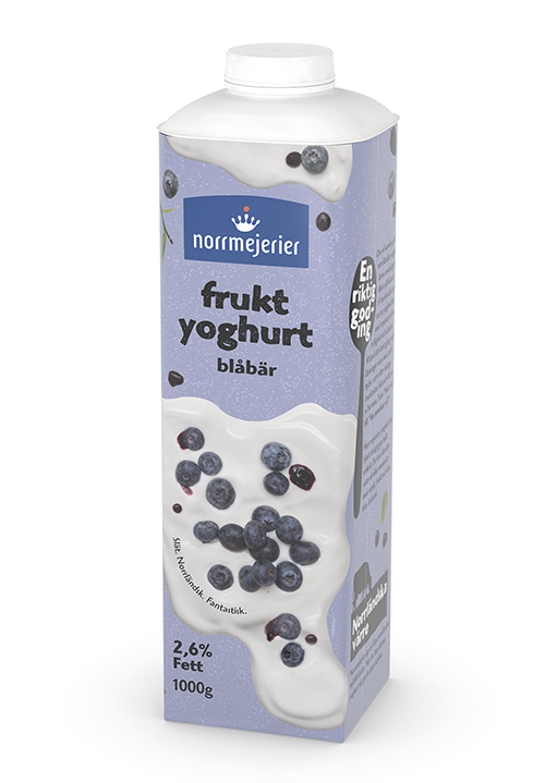 Fruktyoghurt 2,6% Blåbär