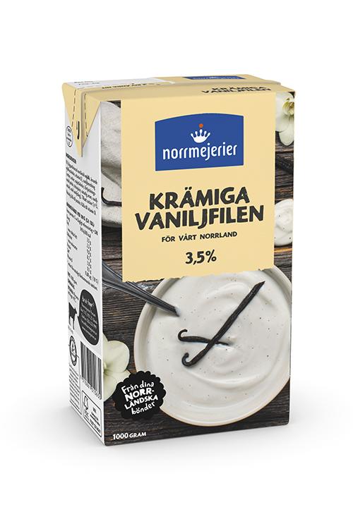 Krämiga Vaniljfilen 3,5%