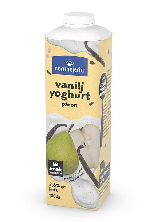Vaniljyoghurt 2,6% Päron