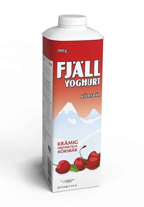 Fjällyoghurt® 3,6% Körsbär