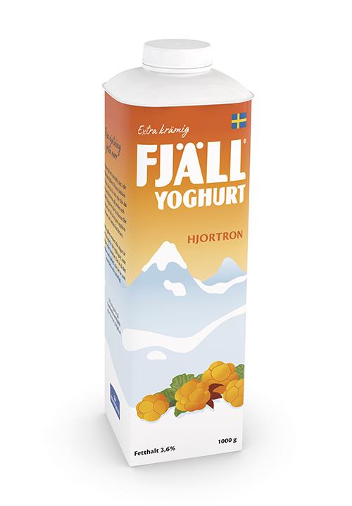 Fjällyoghurt® 3,6% Hjortron
