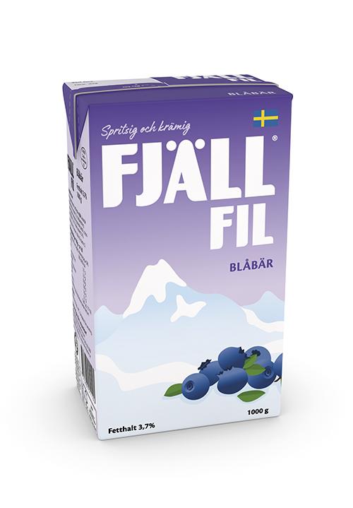 Fjällfil® 3,7% Blåbär