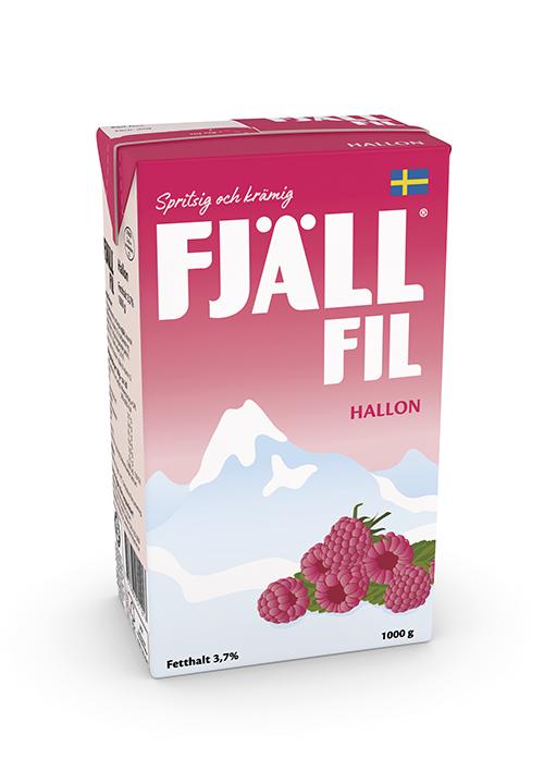 Fjällfil® 3,7% Hallon