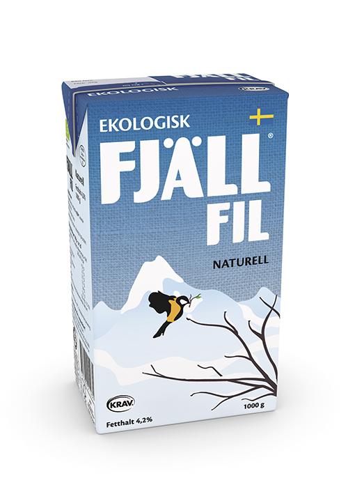 Ekologisk Fjällfil® 4,2% Naturell KRAV