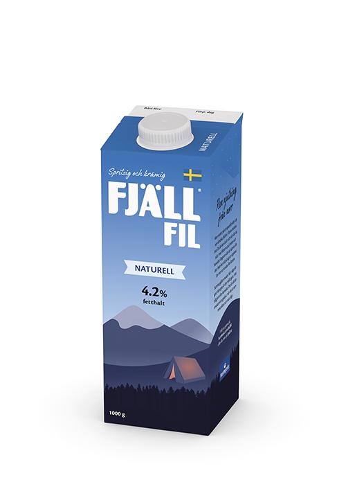 Fjällfil® 4,2% Naturell 1000g